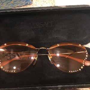 Vintage Versace Butterfly Sunglasses